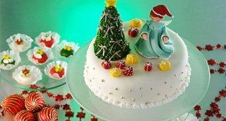 Bolo Natalino Arvore de Natal
