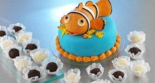 Bolo Procurando o Nemo