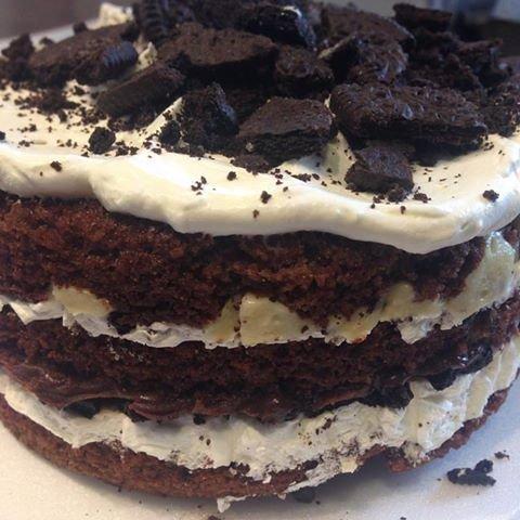 Naked cake Óreo