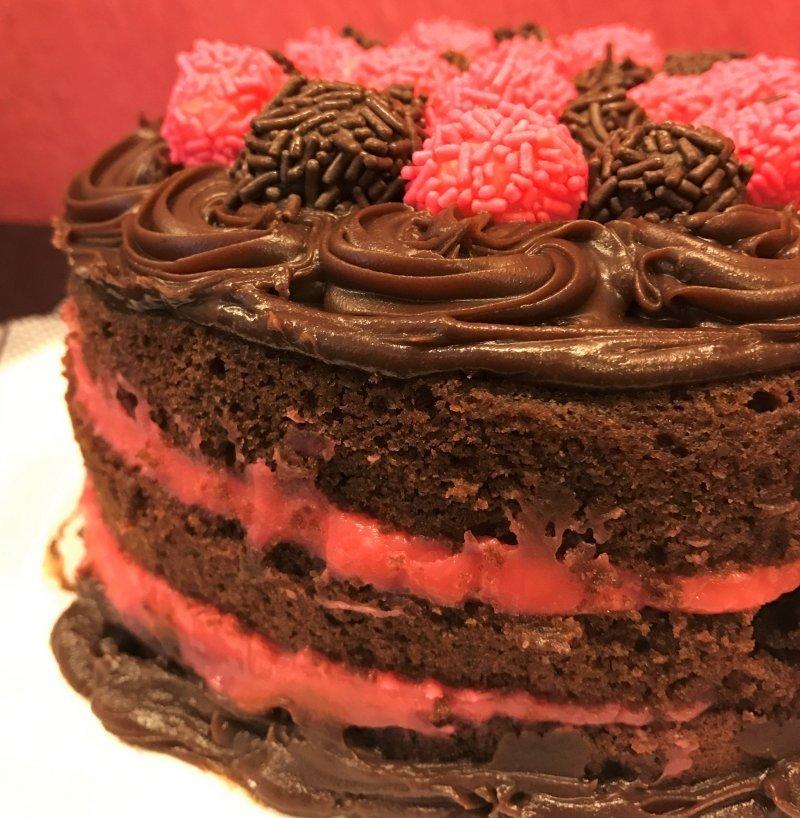 Naked cake Bicho de pé