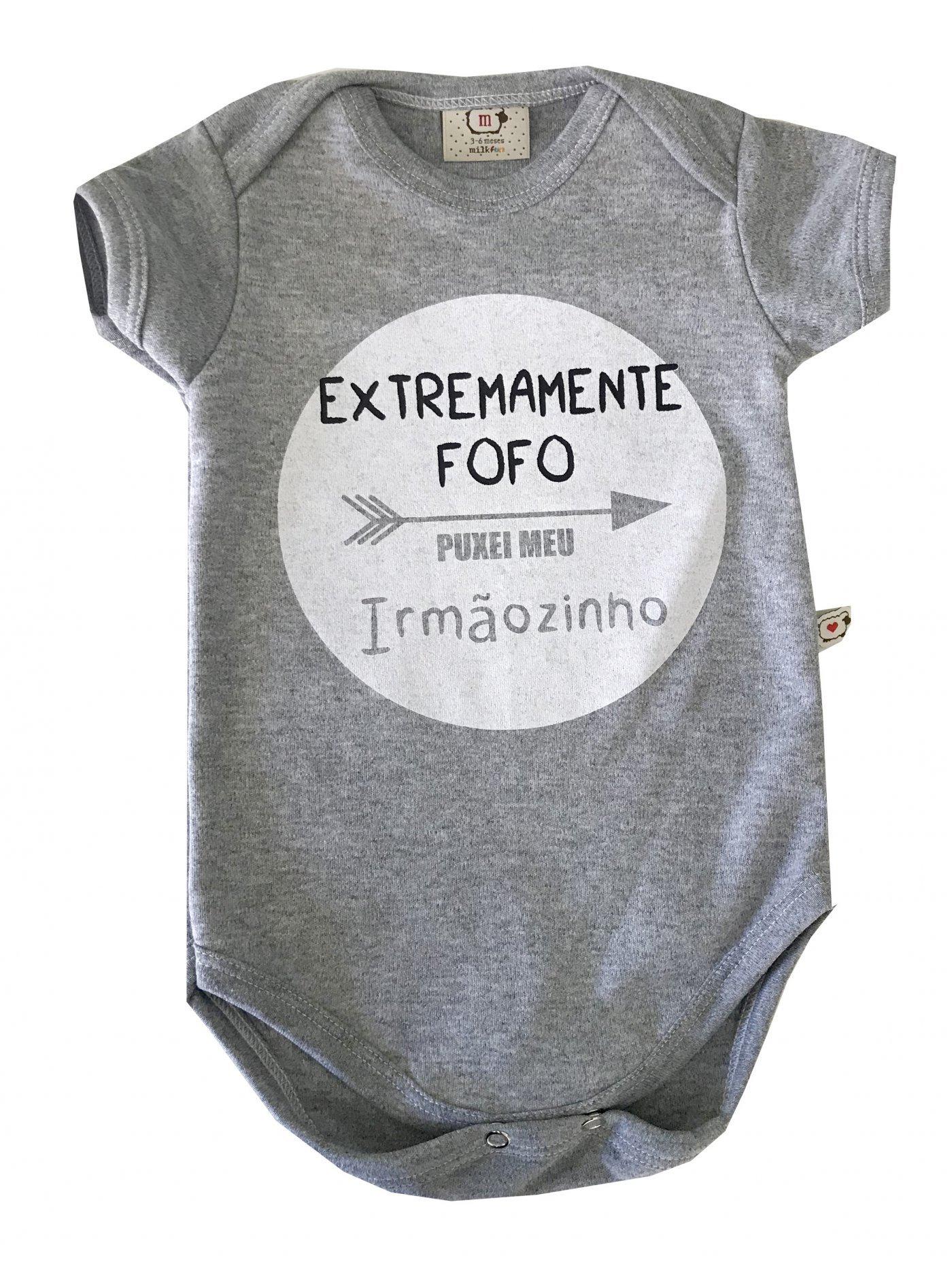 bODY EXTREMAMENTE FOFO PUXEI MINHA IRMAZINHO