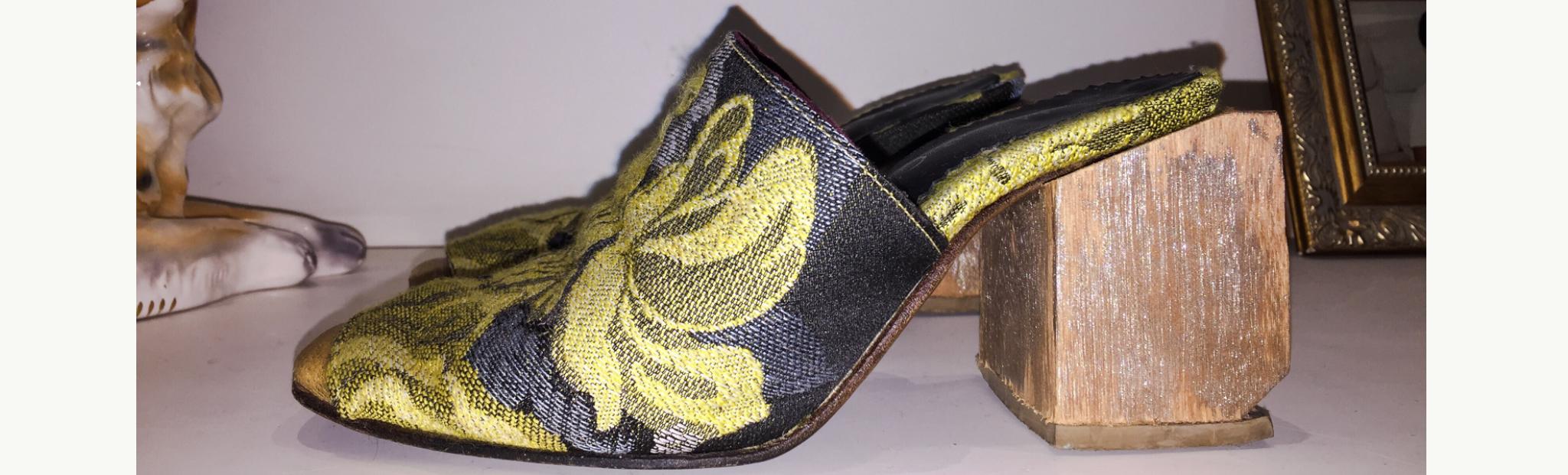 Sapato masculino feito à mão Tamanco Florença E. Marchi