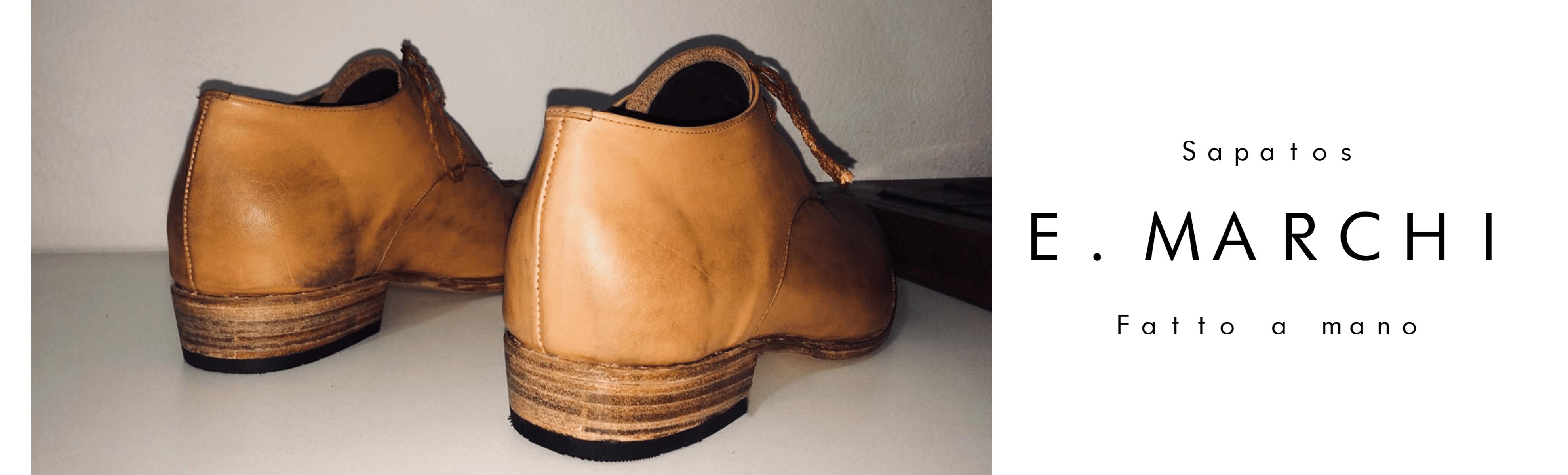 Derby Francisco, sapato masculino fabricado à mão