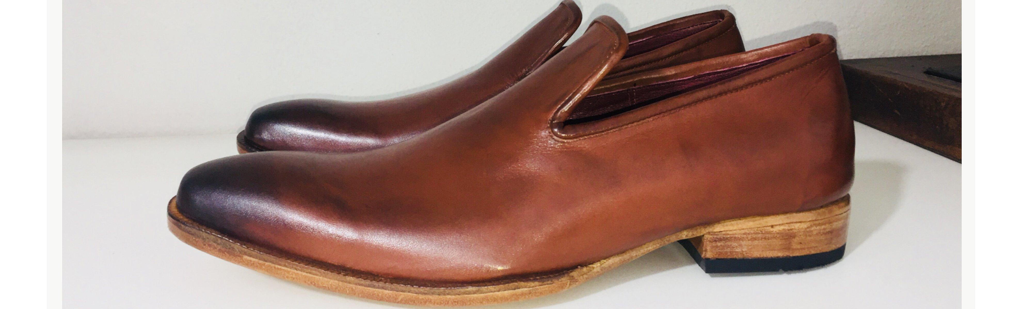 Loafer Silvano em couro E. Marchi - Mocassim fabricado à mão