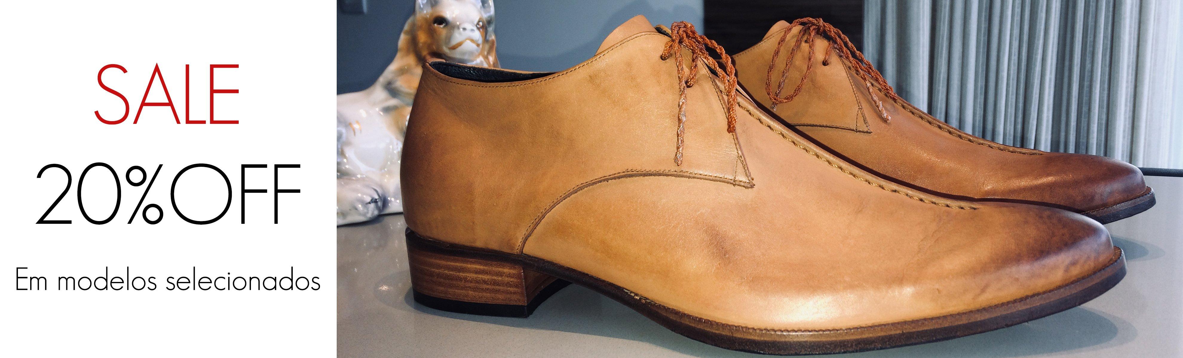 SALE E. MARCHI 20% OFF sapatos de couro feitos a mão no estilo clássico italiano.