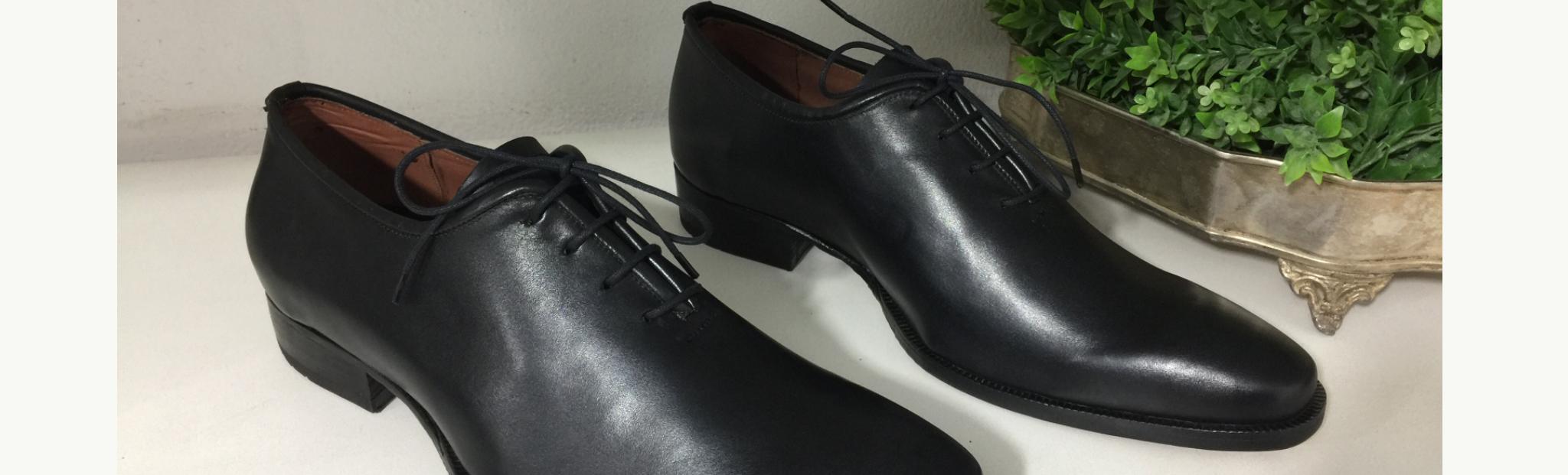 Sapato masculino de couro feito à mão Oxford Mauro E. Marchi