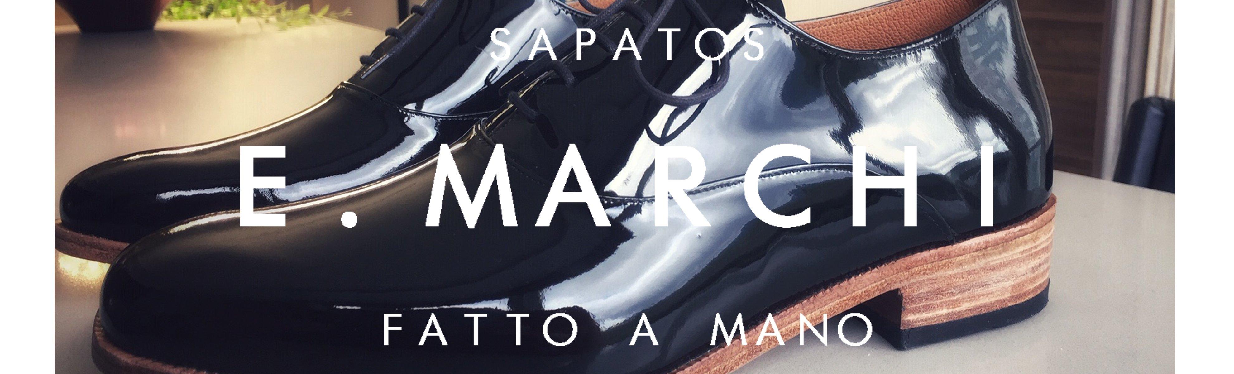 Sapato masculino Oxford Leonardo verniz preto