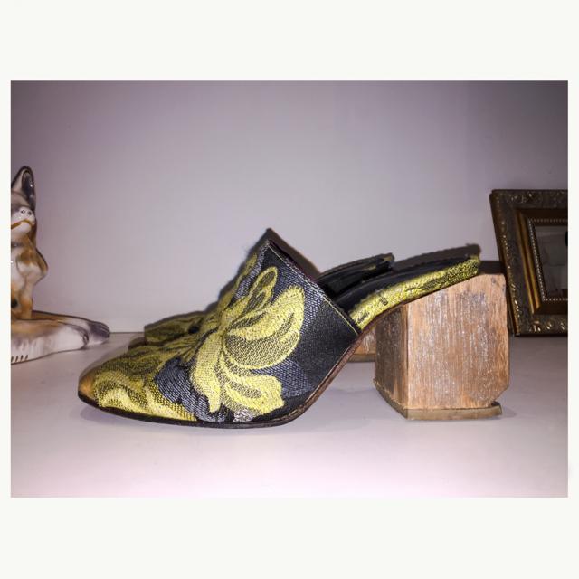 Sapato feminino feito à mão Tamanco Florença E. Marchi