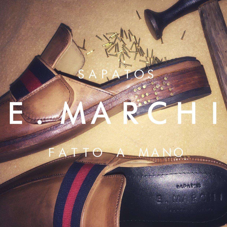 Mule Vivaldi Sapatos E. Marchi sapato masculino e feminino em couro