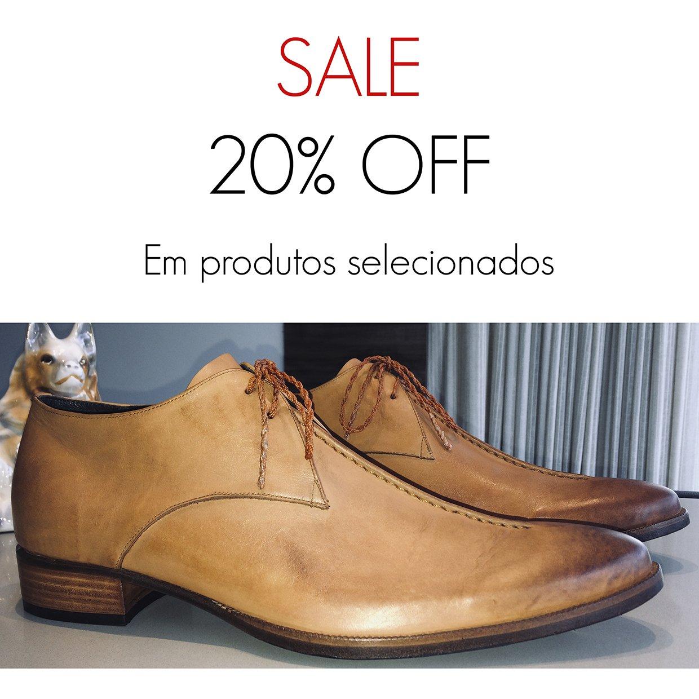 SALE 20% OFF E. MARCHI sapatos de couro feitos a mão em promoção