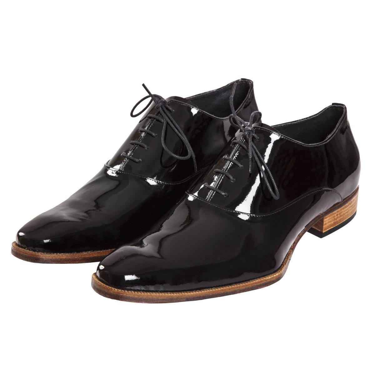 Sapato Feminino Oxford Verniz Preto