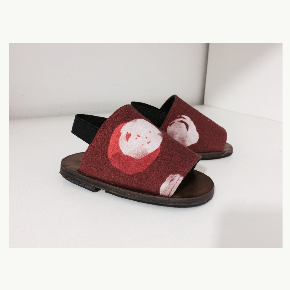 Chinelo Itália Miniatura Van Cleve Vermelho