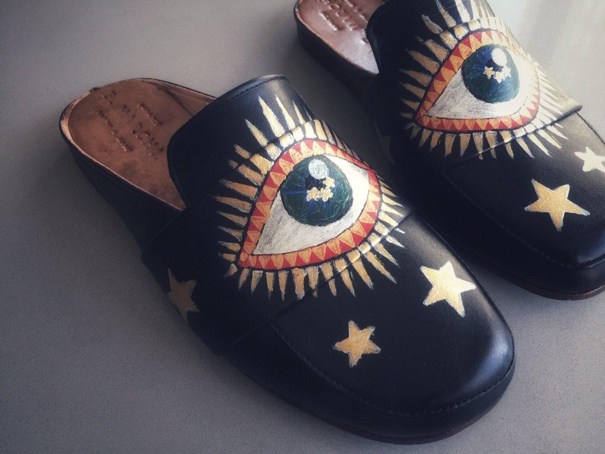 Mule Paola E. MARCHI Pintura Olhos