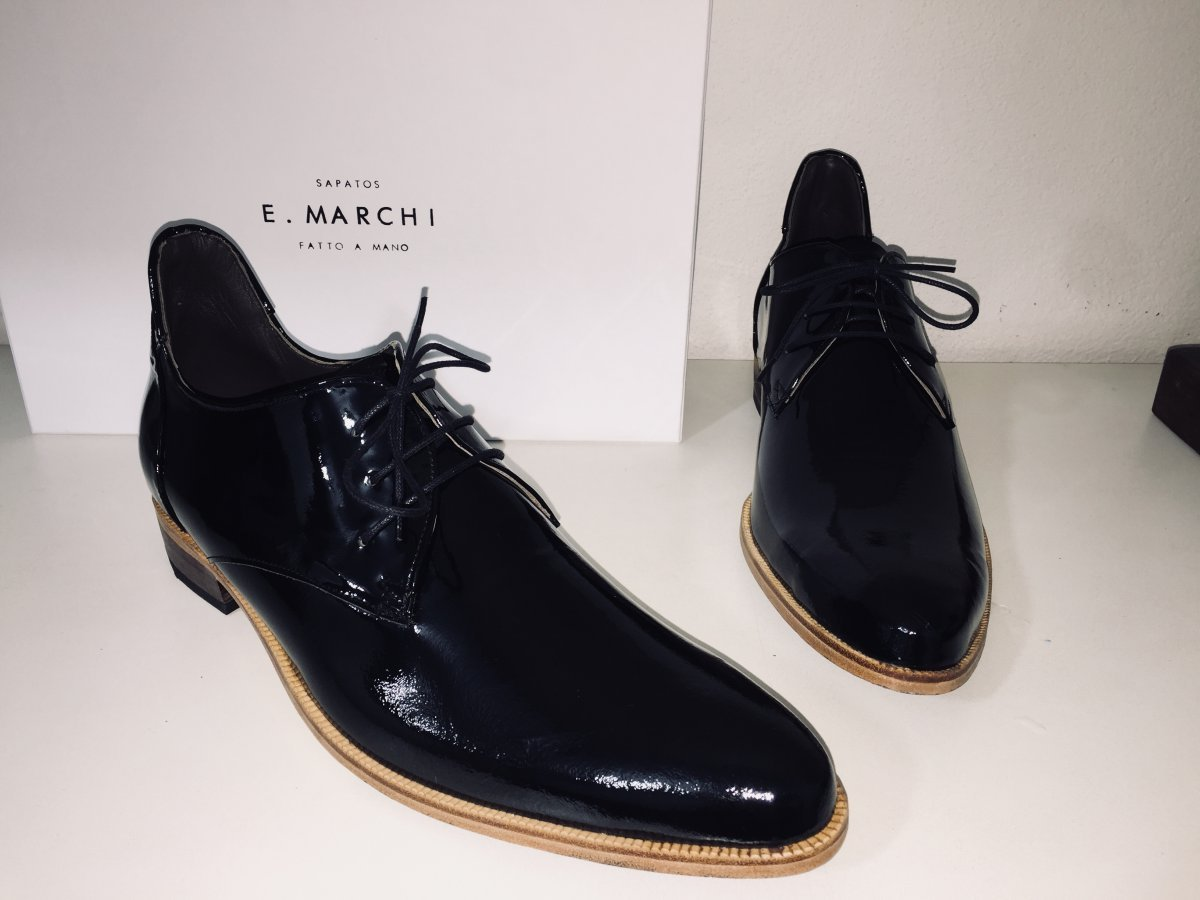 Sapato Derby Tiago Verniz