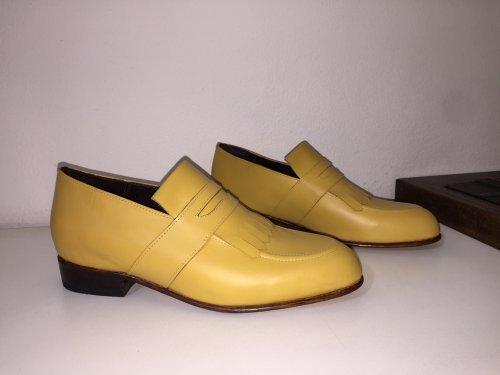 Sapato Casual Loafer Rodrigo Amarelo