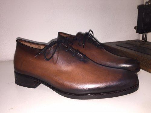 Sapato Oxford Elói E. MARCHI Patina