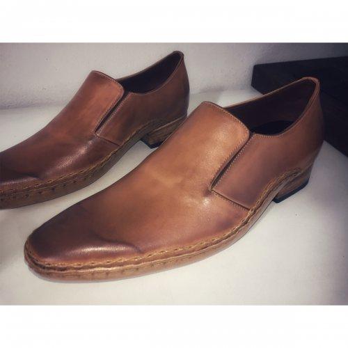 Loafer Ataliba sapato masculino cor Dunas