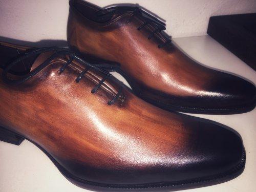 Sapato Masculino Oxford Mauro Patina Serra