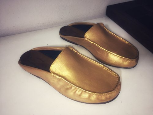 Mule Nonno E. MARCHI cor Dourado