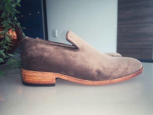 Sapato Loafer Alfredo E. Marchi Veludo