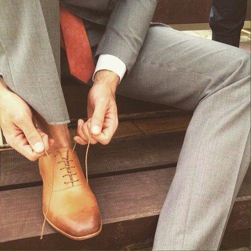 Sapato Oxford Luiz E. Marchi Caramelo