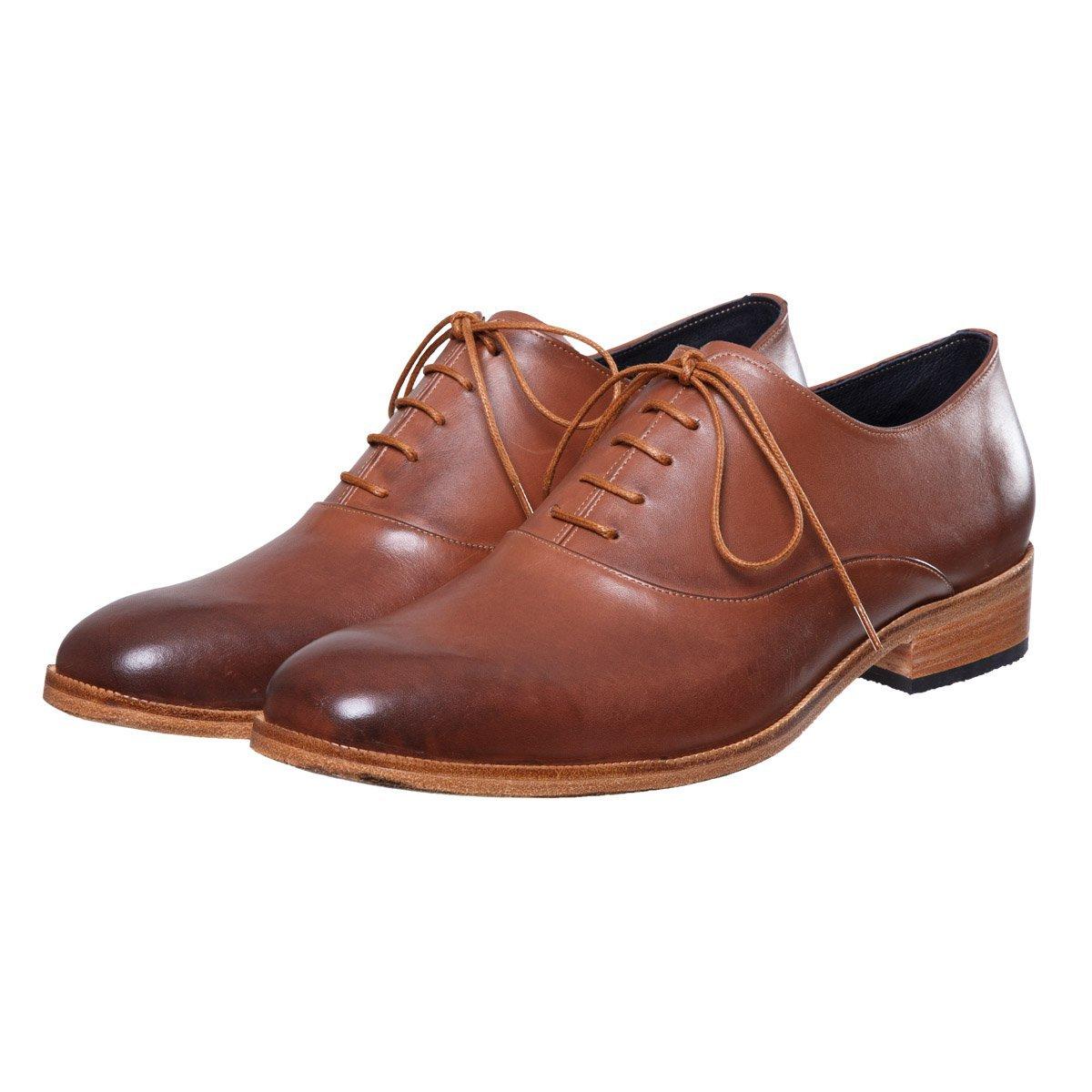 Sapato de Couro Oxford Luiz Marrom