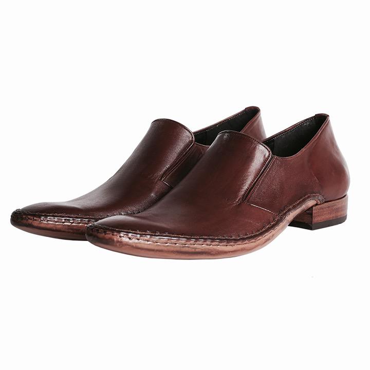 Sapato Social de Couro Loafer