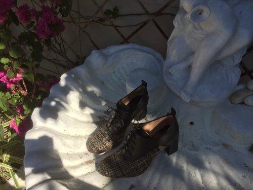 Bota Madonna E. MARCHI Mulher cor preta