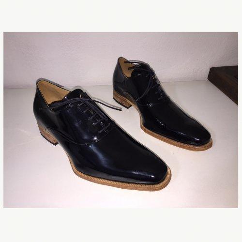 Sapato Oxford E. Marchi Couro Verniz