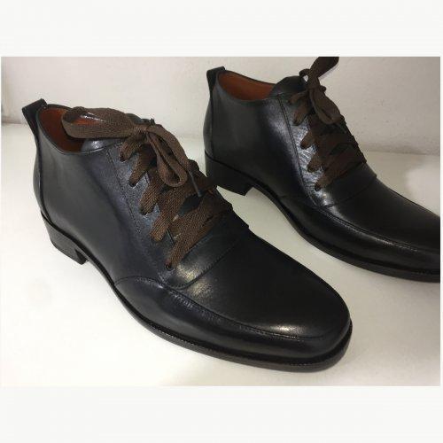 Sapato Derby Gioia E. Marchi cor Preta