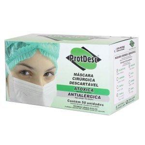 Máscara descartável - Protdesc