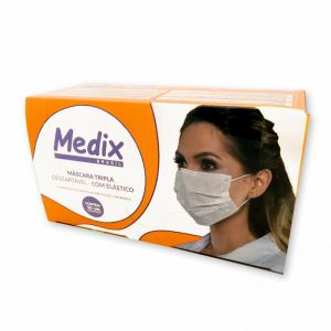 Máscara Cirúrgica Descartável - Medix