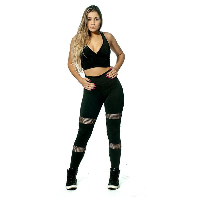 Legging Renda Horizontal Lisa