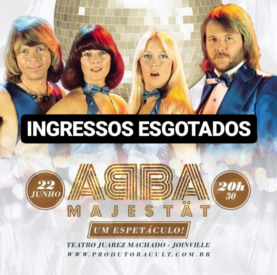 ABBA Majestät - Um Espetáculo! [Joinville]