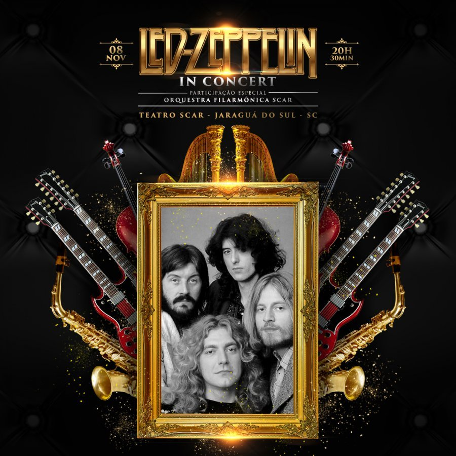Led Zeppelin In Concert [Jaraguá Do Sul]