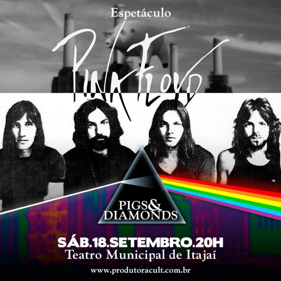 Espetáculo Pink Floyd em Itajaí