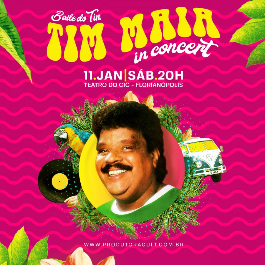 TIM MAIA In Concert [Florianópolis]