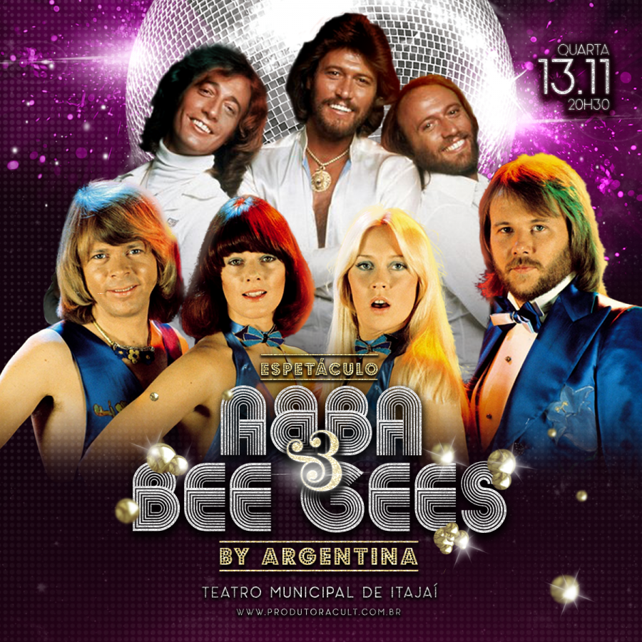 ABBA e BEE GEES by Argentina [Itajaí]