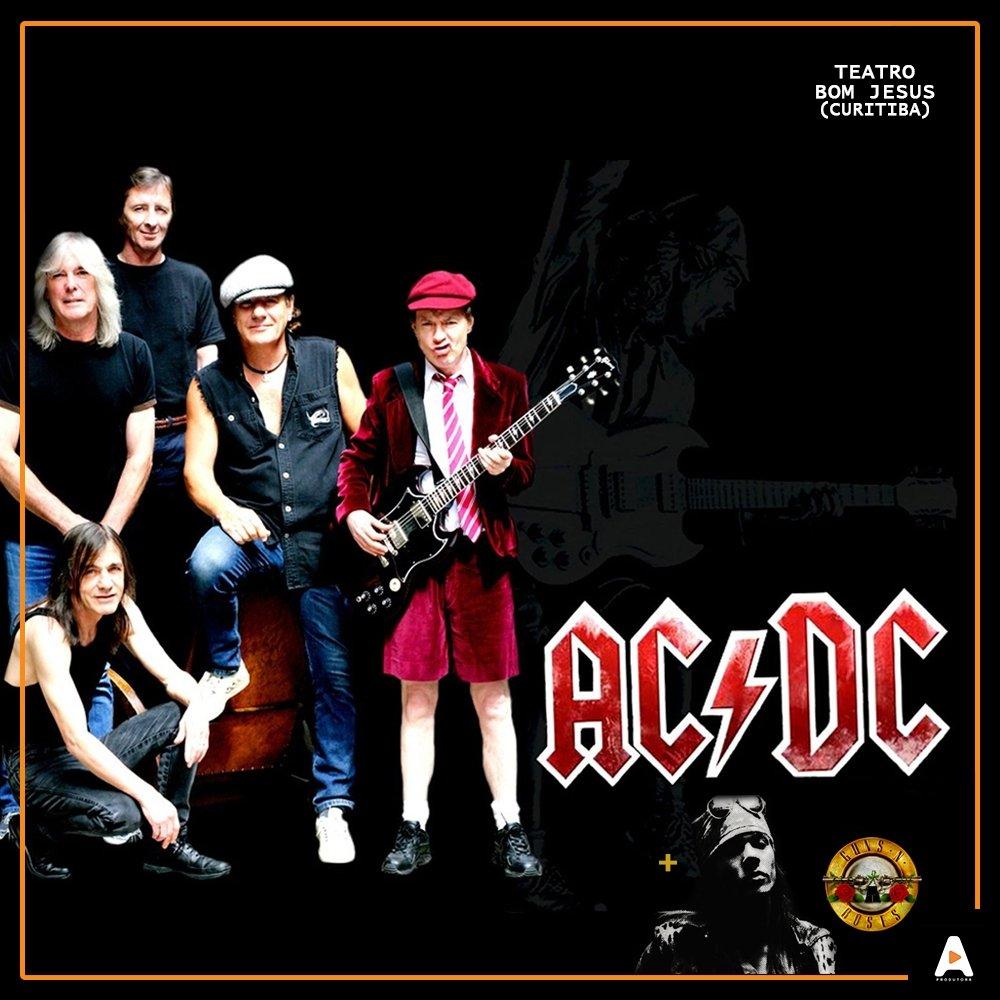 Espetáculo AC/DC and Guns N´ Roses em Curitiba.