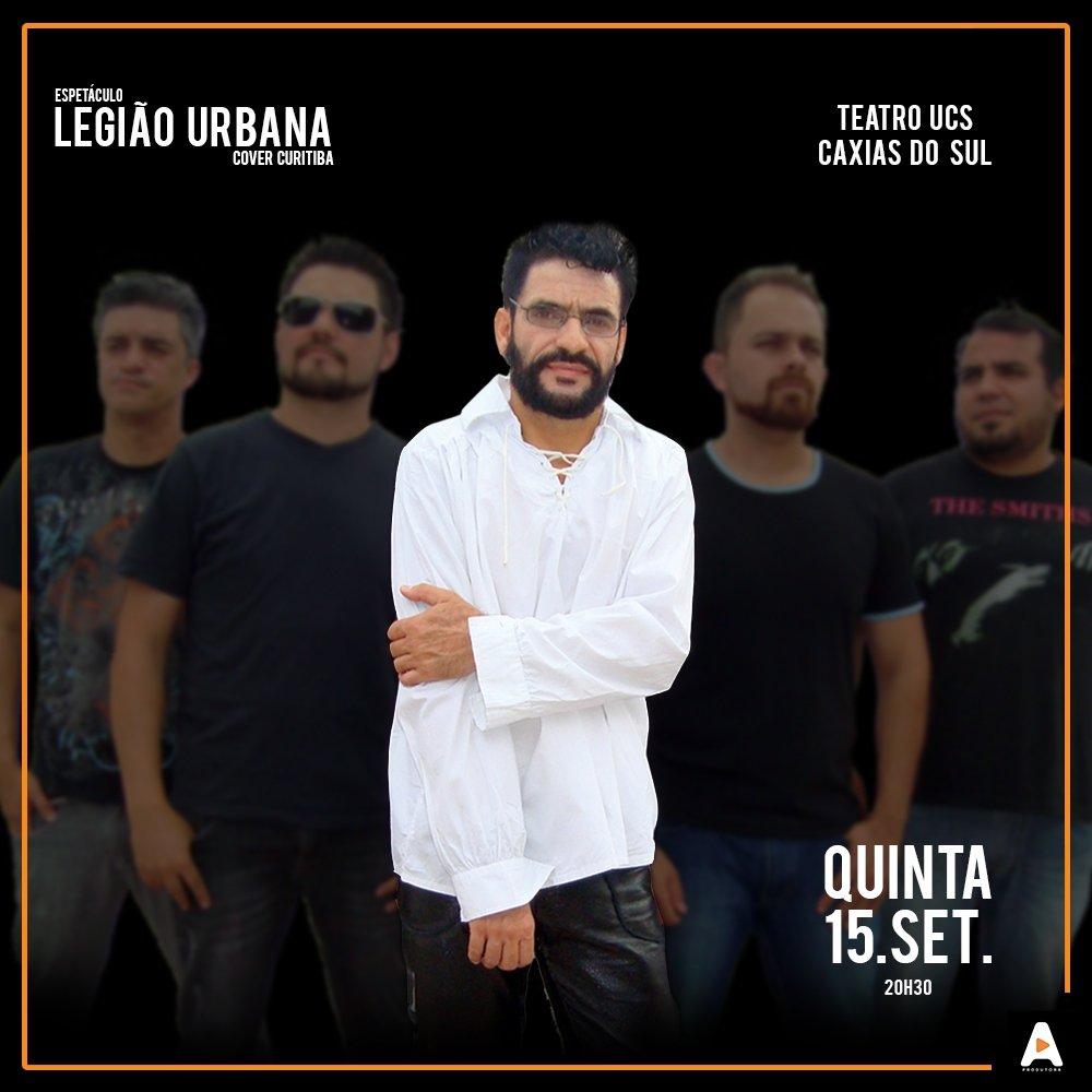 Espetáculo Legião Urbana em Caxias Do Sul.