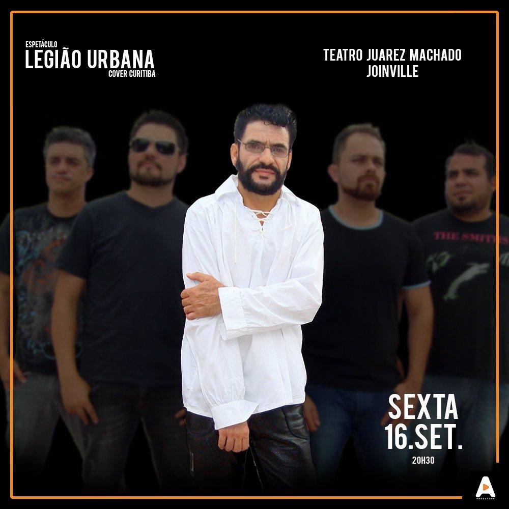Espetáculo Legião Urbana em Joinville.