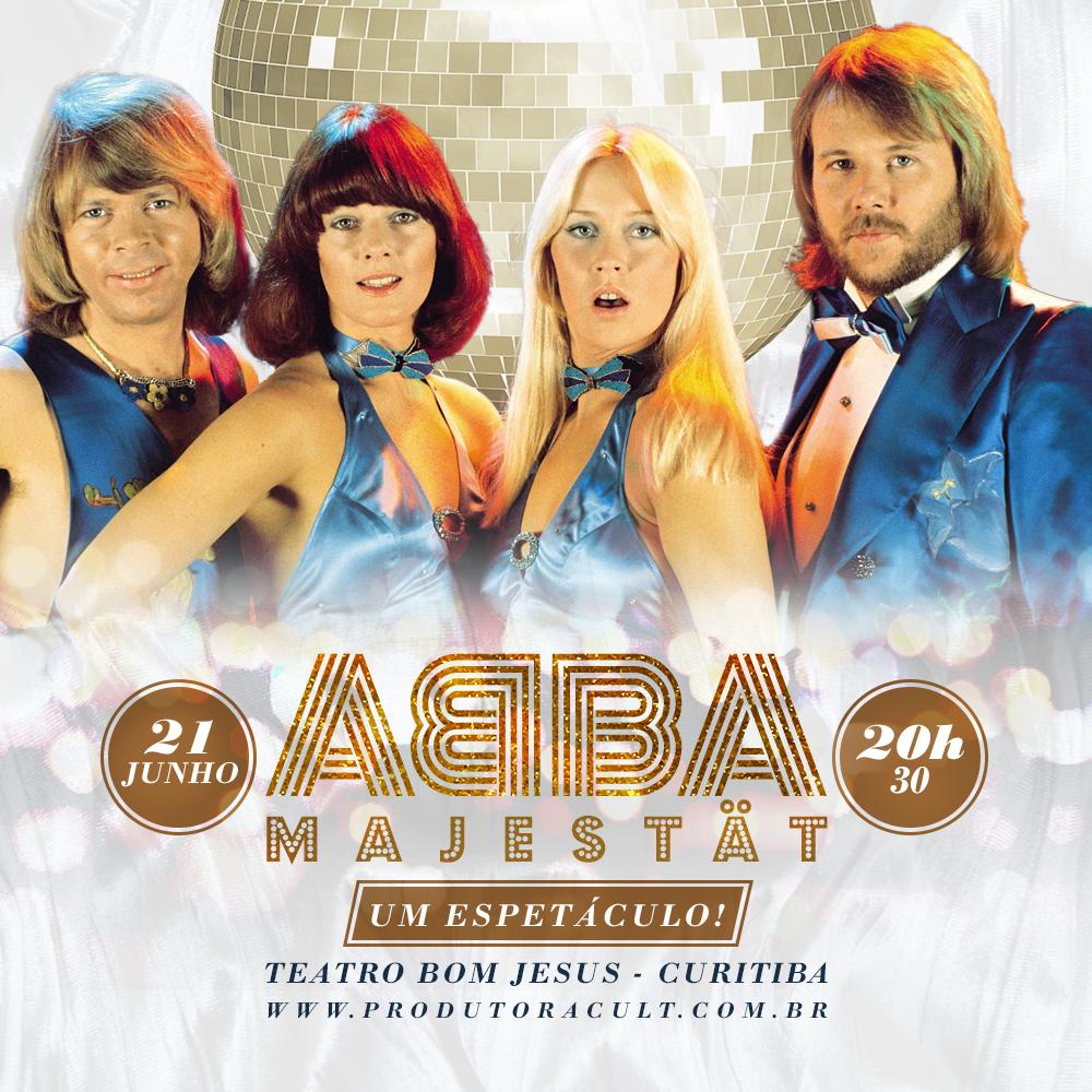 ABBA Majestät - Um Espetáculo! [Curitiba]