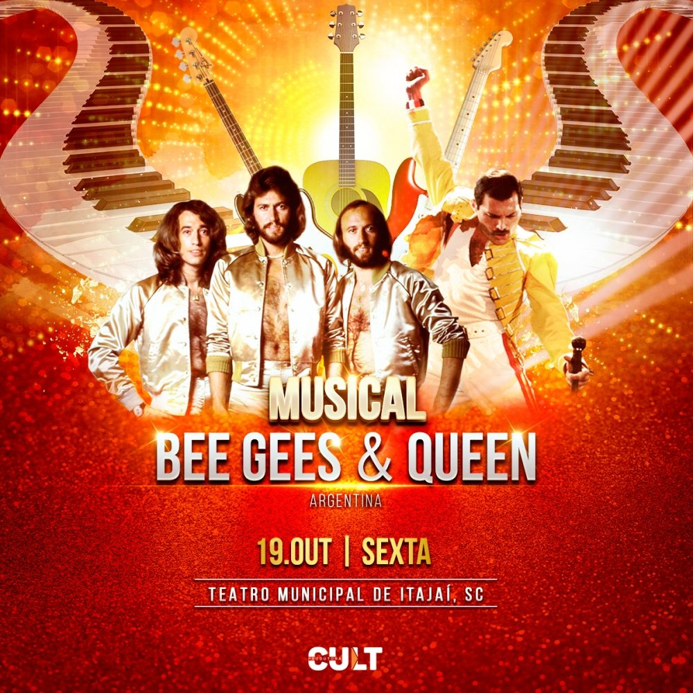 Musical BEE GEES & QUEEN Argentina [Itajaí]