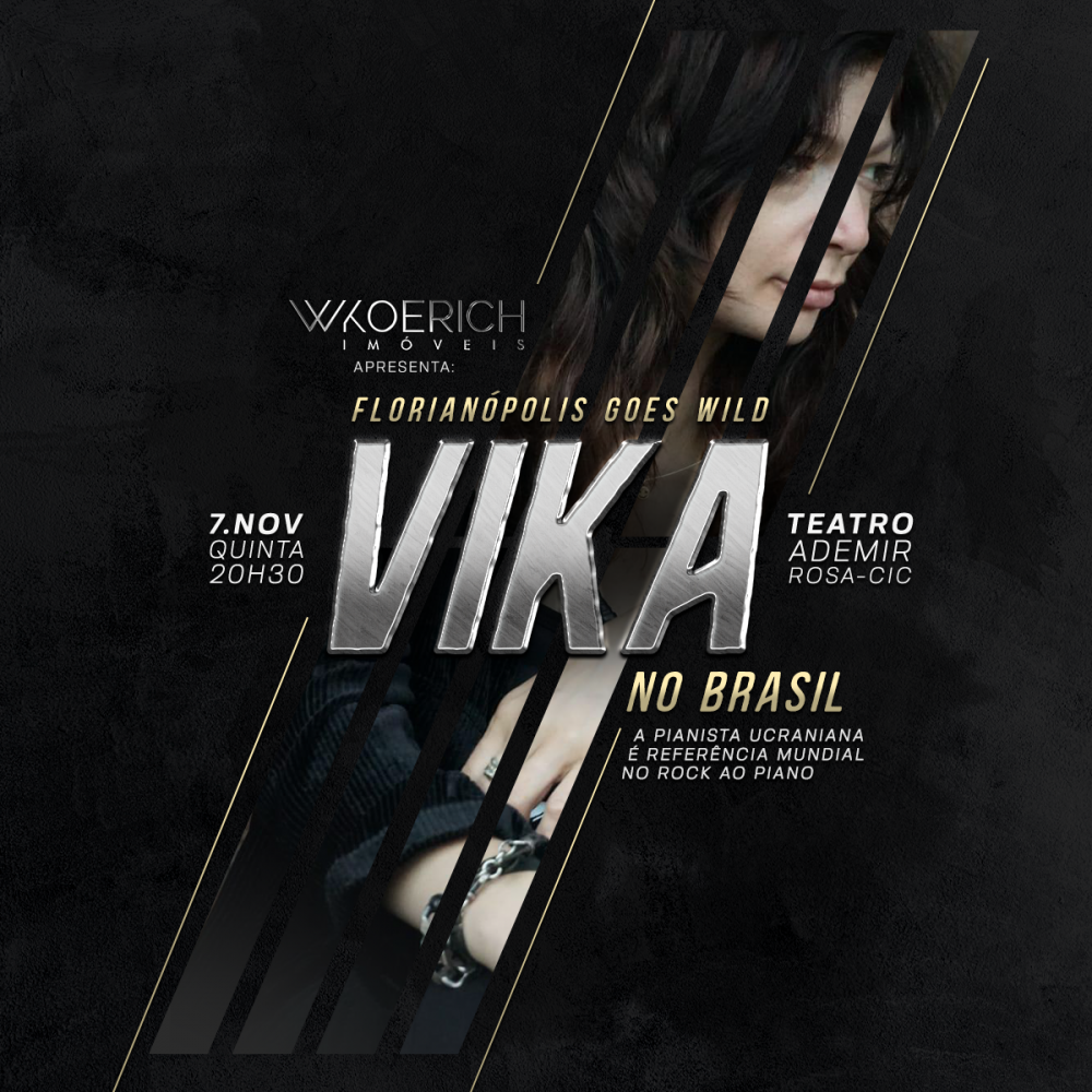 Vika no Brasil: Florianópolis goes wild