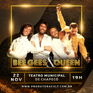 BEE GEES & QUEEN Argentina [Chapecó]