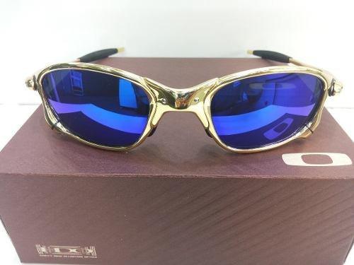 Oakley Juliet 24k X-squared Double Xx Dourada Magic Blue