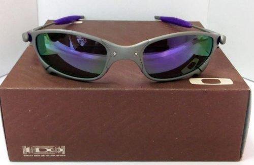 Oculos Oakley Double X Squared 24k Juliet Roxa