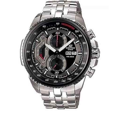 461f21a838c Relógio Casio Edifice Ef-558d-1 Prata Preto Promocional