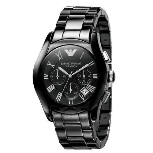 5f494b2d171 Relógio Emporio Armani Ar1400 Ceramica Preto Garantia 3 Anos