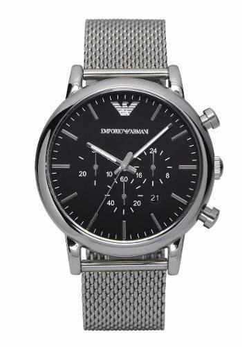 0603ca16e56 Relógio Empório Armani Ar1808 Original Garantia Promocional
